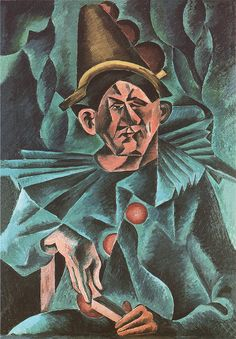 Bohumil Kubišta - Pierrot | 1911, oil on canvas
