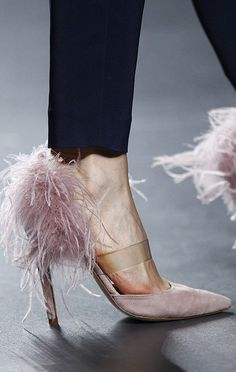 Luxury pink unique shoes from Madrid Fashion Week | Let yourself to be inspired, visit http://www.bocadolobo.com/en/inspiration-and-ideas/