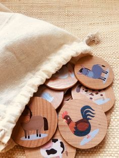Diy For Kids, Gifts For Kids, Learning Toys, Kids Educational Toys, Waldorf Toys, Memory Games, Wood Toys, Diy Toys, Toddler Activities