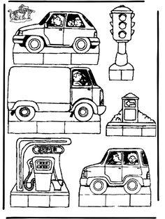 bouwplaat / kijkdoos verkeer