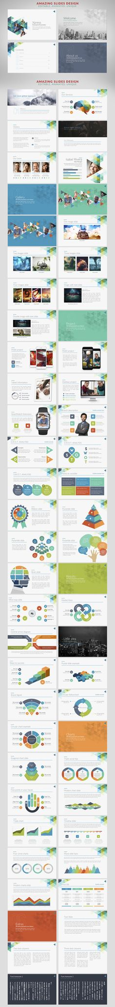 Xpress | Powerpoint templates - Presentations