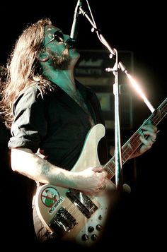 Lemmy: like his music; his bass and that gravelly voice. his lifestyle..not so much:)