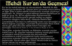 Mehdi Kur'an'da Geçmez!