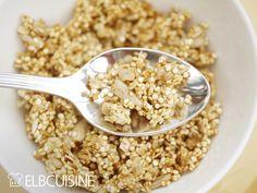 Je leckerer das Frühstück – so schöner wird der Tag. Müsli wollte ich schon immer mal selbst machen. Aber bislang hat mich noch kein Rezept gereizt, bis ich dieses Quinoa-Müsli bei Donna Hay* entdeckt habe. Es ist ganz schnell gemacht, der Duft aus ...