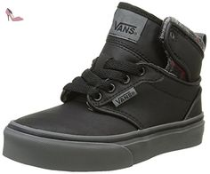 Atwood Deluxe, Baskets mode homme - Noir (Pewter/Guatemala), 38.5 EUVans