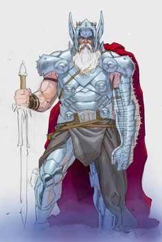 Odin, King of Asgard, Protector of the Nine Realms