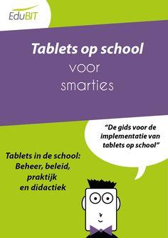 Tablets op school.