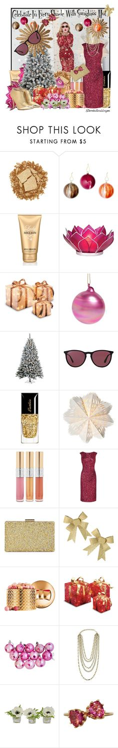 """""""Celebrate in Every Shade with Sunglass Hut: Contest Entry"""" by stormbattereddragon ❤ liked on Polyvore featuring Urban Decay, Paco Rabanne, Cultural Intrigue, CO, Jim Marvin, Sterling, Ray-Ban, L.K.Bennett, Sasha and Guerlain"""