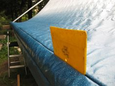 How To Replace Rv Slide Topper Awning Fabric With Images Mobile Living Awning Trailer Awning