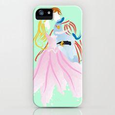 Disney I Sleeping Beauty iPhone Case by Jessica Slater Design & Illustration