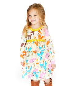 Look at this Forest Friends Jill Knit Dress - Infant, Toddler & Girls on #zulily today!