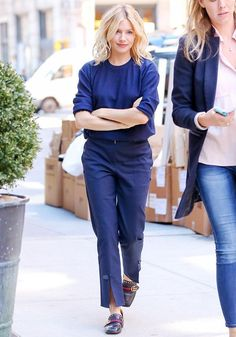 nice This Unexpected Pant Trend Just Got Sienna Miller's Seal of Approval Celebrity Style Check more at http://pinfashion.top/pin/77026/
