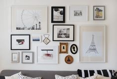 Live Creating Yourself.: Ladyplace: The Making of a Living Room Gallery Wall