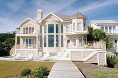 Great Beach Front House Pretty Iu0027ll Even Take A Smaller Version Of This House :