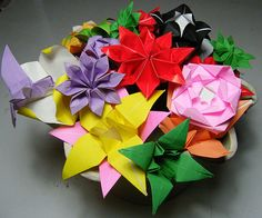7 best origami flowers images on pinterest origami flowers cool origami flowers by httpsepicflowersnindexp mightylinksfo