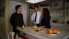 sholio | White Collar: Burkes + Neal in the kitchen picspam part one