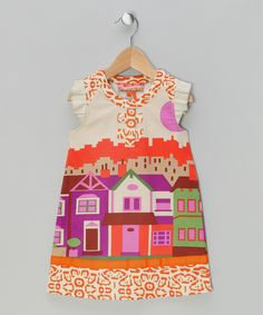 Take a look at this Orange Danny Dress on zulily today!