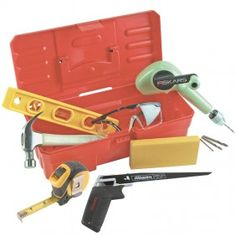Tool set with box