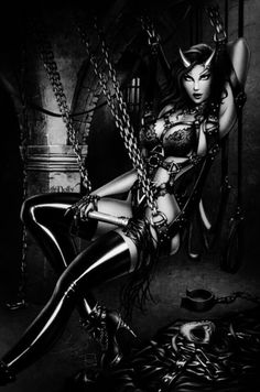 sexyPin ups, dark Art,Rockabilly
