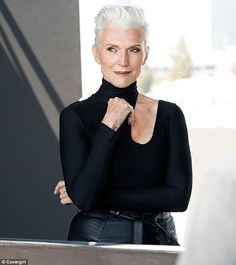 Easy, breezy, beautiful! Maye Musk, mother of billionaire Tesla CEO Elon, has been named as the oldest ever CoverGirl at age 69