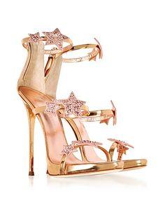 10fcc24a8b71b Annemarie Pink Patent Leather High Heel Sandals w/Flower…