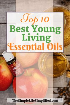 What are the best essential oils for beginners? Here is my top 10 list of the best essential oils Young Living has. These are some of the best essential oils to have on hand for beginners and non-beginners alike. Essential Oils Uses Chart, Essential Oil Starter Kit, Essential Oils For Colds, Young Living Essential Oils, Living Essentials, Young Living Oils, Healthy Living, Clean Living, Simple Living