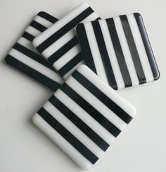 Fused Glass Coasters  Interested in making your own? Call and schedule a class!
