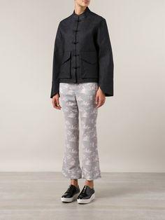 G.v.g.v. Denim Mandarin Jacket - H. Lorenzo - Farfetch.com