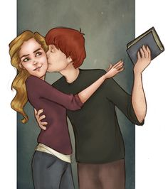"I imagine this is how I'll look with my boyfriend one day: ""Ok. Affection. That's sweet. BUT GIVE ME MY BOOK; I WASN'T DONE WITH THAT CHAPTER!"""