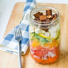 ... about Salads on Pinterest | Salad in a jar, Cobb salad and In a jar