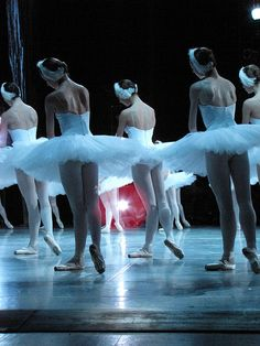 Swan Lake Ballet...the most gorgeous thing i ever laid my eyes on!