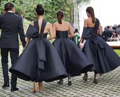 Wedding Slayers on a mission in Mark Bumgarner Manila // #apbridesmaids #couture #blackbridesmaids