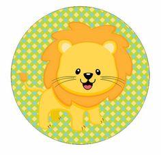 Leon redondo Birthday Favors, Birthday Invitations, Moldes Para Baby Shower, Lion Cakes, Jungle Party, Baby Album, Animal Birthday, Wild Ones, Baby Design