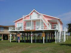 Sound Waves Beachfront Beach House Als In Surfside Texas 3 Bedrooms 2 Bathrooms Sleeps 12 Pinterest