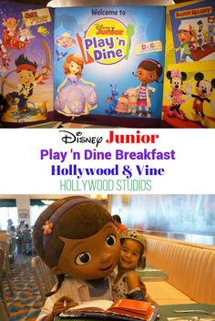 Disney Junior Play 'N Dine Breakfast at Hollywood & Vine - Hollywood Studios - Walt Disney World - REVIEW