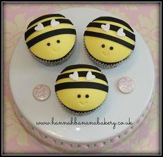 vegan bee cupcakes Hannah banana bakery