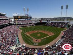 Cincinnati Reds!-beautiful ballpark, their fans are not so nice