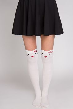 Kitty Knee High Socks - $10.99