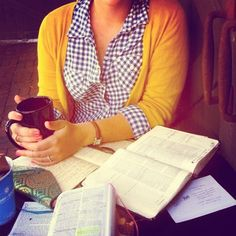 Mustard & Plaid // fall color combo // also i love the journal