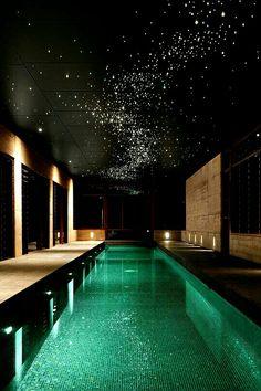Fiber optic panel star ceiling my life under the stars for Swimmingpool abverkauf