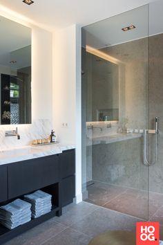 Design badkamermeubels met dubbele wasbak | badkamer ideeen ...