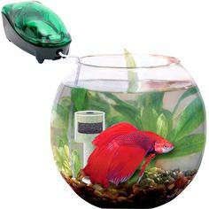 Аквариум Aquael Gold Fish круглый в интернет магазине ZooVenta.ru