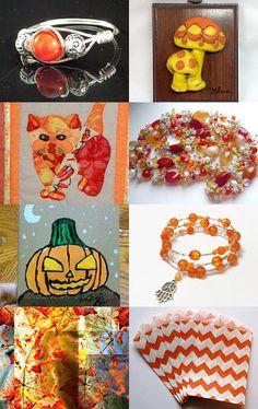 FRU Sweet 16 Treasury--Orange You Glad It's Friday? by SiriusFun on Etsy--Pinned with TreasuryPin.com