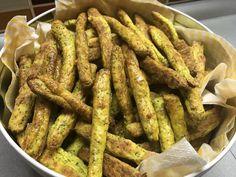Bramborové tyčinky s nivou   Nikol Kukačková - domácí recepty Green Beans, Sausage, Meat, Vegetables, Cooking, Food, Kitchen, Sausages, Essen