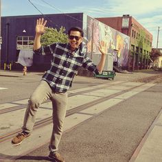 gettin my hipster on in Portland... Gitman vinatage x grey RRL x BoO boat shoes #Menswear #wiwt #Streetstyle