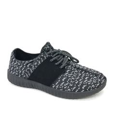 Take a look at this Black Tilt Sneaker today!