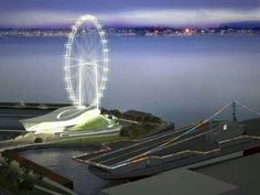 Proposed 400ft. Ferris wheel; proposed for the San Diego Embarcadero.