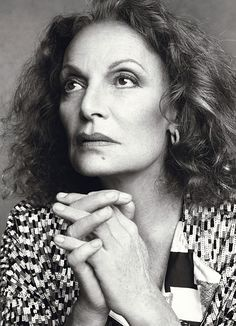 Diane Von Furstenberg - Fashion Designer #internationalwomensday #dianevonfurstenberg