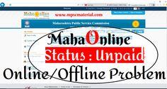 MPSC Online : Payment Problems Status:Unpaid – MPSC Material