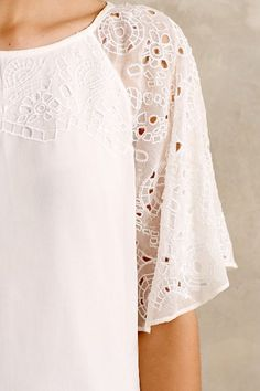 Snowbell Blouse - anthropologie.com #anthroregistry